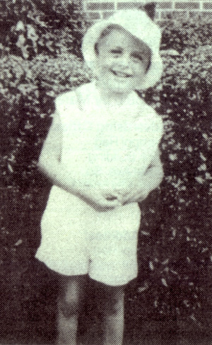 Johnny Varro, age 4, Brooklyn